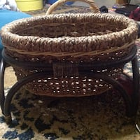 Large basket with legs Lathrop, 95330