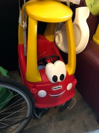 yellow and red Little Tikes cozy coupe Nashville, 37013