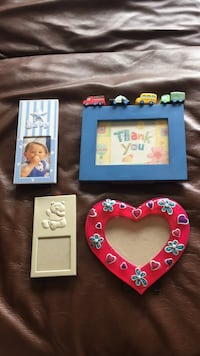 Various picture frames. Various sizes and colours. $2 for one/$5 for 4 Toronto, M5A 4A8