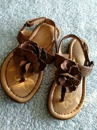 Girls size 8 sandals Silver Spring, 20910