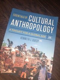 Essentials of cultural anthropology textbook  Temescal, 92883