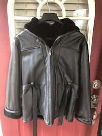 Womens Black leather jacket Tinley Park, 60477