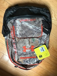 NEW Inder Armour Camo Backpack Stanley, 28164