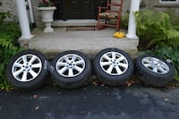 rims and snow tires null