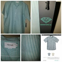New Diamond 2xl button down shirts Long Beach, 90807