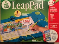 LeapPad Learning System with interactive books! 801 km