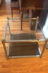 Vintage Glass Table