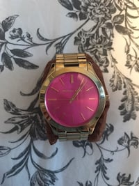 Michael Kors Gold and Pink Watch Toronto, M9R