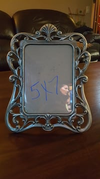 gray steel carved photo frame Fort Collins, 80525