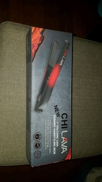 New chi lava volcano ceramic hair styling iron