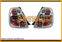 PILOTOS LED CLAROS CROMO FIAT 500 07-15 Alicante