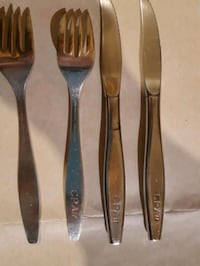 cutlery from airline can.pacific Montreal