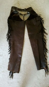 Men's motorcycle chaps large in excellent conditio Gurnee, 60031
