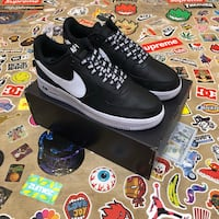 "Nike AF1 Low ""NBA Black"" (Size 11) Montgomery Village, 20886"
