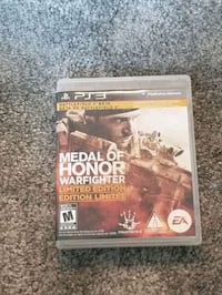 Medal of Honor Warfighter Limited Edition  for PS3 Brampton, L6P 4K9