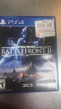 Sony PS4 Star Wars Battlefront game case Mineral, 23117