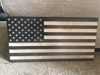 Wooden American Flag Frederick