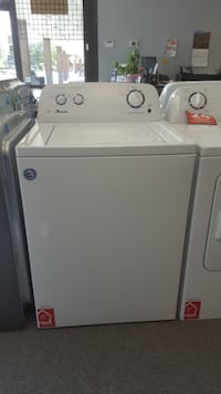 NEW Amana® 3.5 cu. ft. Top-Load Washer with Dual Action Agitator - white LITTLETON