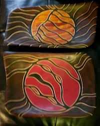 Hand carved & hand painted wood platters   Henderson, 89044