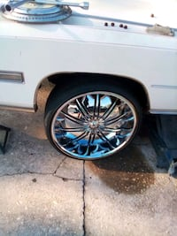 24 inch chrome rims ,new tires  Norfolk, 23514