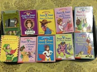 six assorted story books collection Clinton Township, 48035