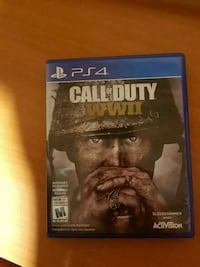 PS4 Call of Duty WWII case Vaughan, L4H 1X1