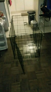 black metal folding dog crate Toronto, M5V 0E4