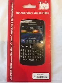 BlackBerry Curve Anti-Glare Screen Toronto, M1W 1Y2