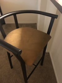 2 Bar stools in great condition. Price is negotiable so say your offer. Alexandria, 22304