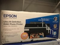 New brand box not used Epson Photo Printer. See details on picture  Herndon, 20171