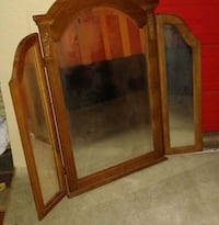 Large Trifold Mirror