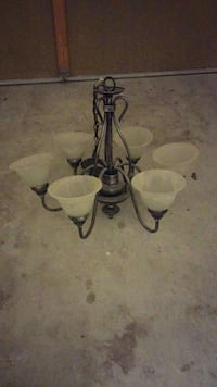 two chandeliers on sale
