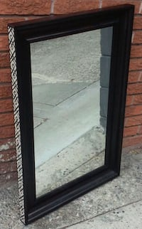 #22427 2'x3' mirror w/ hand painted African design Oakland, 94610