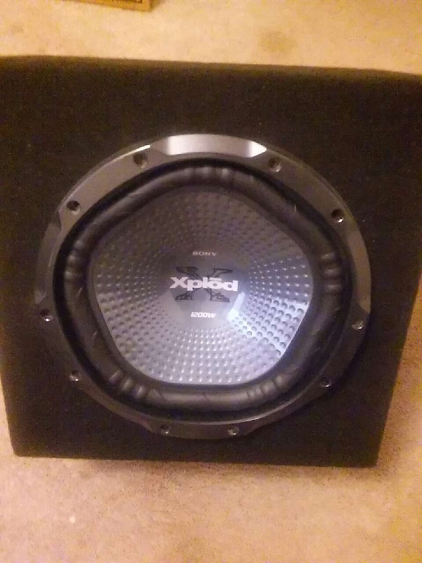 used 12 inch sony subwoofer for sale in columbia letgo. Black Bedroom Furniture Sets. Home Design Ideas