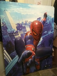 WALL DECOR FROM 2012 SPIDERMAN MOVIE