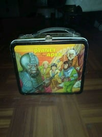 Planet of the apes lunch box w/o thermos $100.00 Dallas, 75253