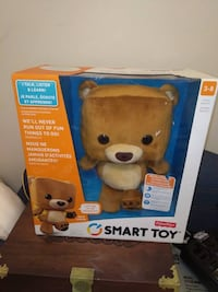 Fisher-Price Smart Toy Bear Brand New in Box  Who knew Smart could be so cute? Meet Smart Toy Bear -- an interactive learning friend with all the brains of a computer, without the screen. The more your child plays with Smart Toy, the more this remarkable  Toronto