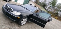 2001 Mercedes S-Class S500 Silver Spring