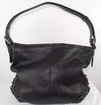 Coach Womens Black Pebbled Leather Small Tote Shoulder Bag Gatineau, J8T 1Y1