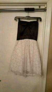 Size large black and white party dress Glendale, 85308