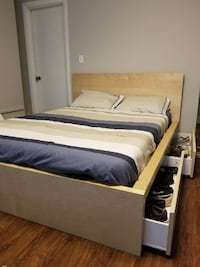 King bed with 4 drawers  MADRID