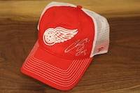 Curtis Joseph Autographed Red Wings Hat  Vaughan, L4L 0G4