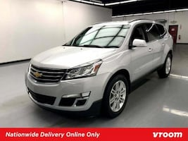 2015 Chevy Chevrolet Traverse Silver Ice Metallic hatchback