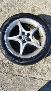 "16"" 5 lug with tyre"