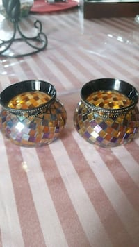 2 Votive candle holders Queens, 11435