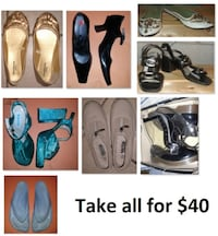 Size 7 Ladies Shoes Lot (Take all for $40) Mississauga