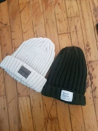 NEW White/cream and army green Beanies  Vancouver, V5S 2N8