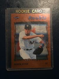 2 Derek Jeter rookie cards