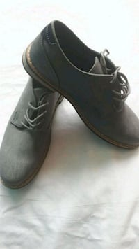 Boys size 7 suede dress shoes Brand New