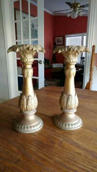 Gold Candle Sticks